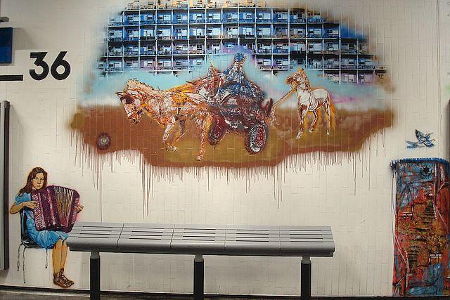 street art gare du nord 6
