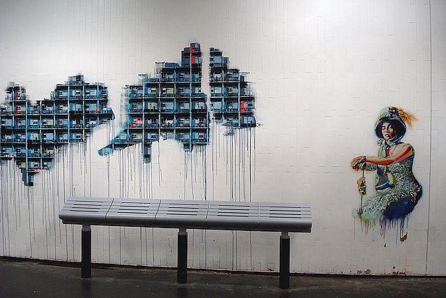 street art gare du nord 7