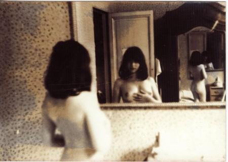 photographiée à 19 ou 20 ans (photo développée dans notre chambre noire) par J.-Y.