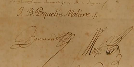 manuscrit moliere
