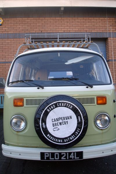 edimbourg campervan brewery