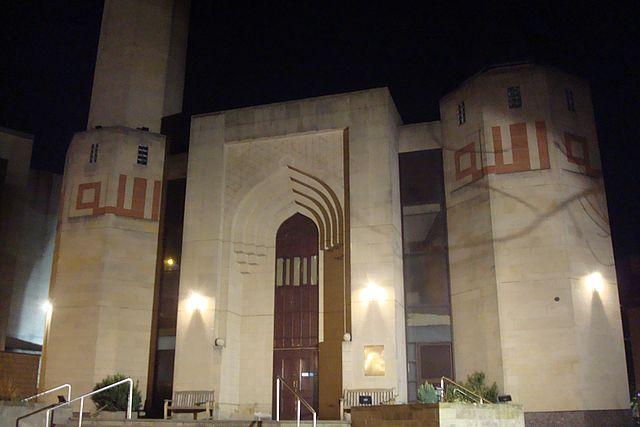 edimbourg mosque