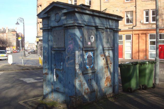 edimbourgh police box