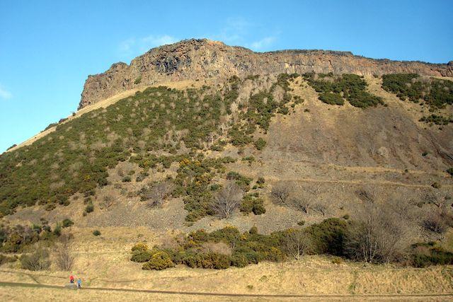 edinburgh, arthur seat salisbury crags