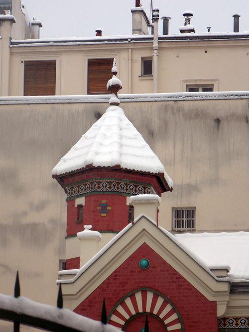 neige paris 15