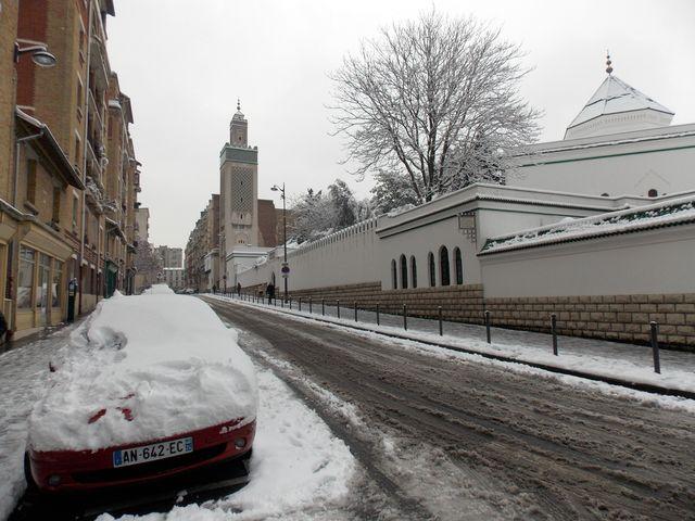 neige paris 8