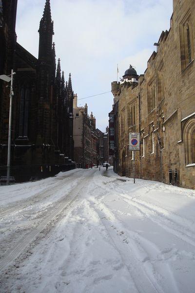 edimbourg neige 11