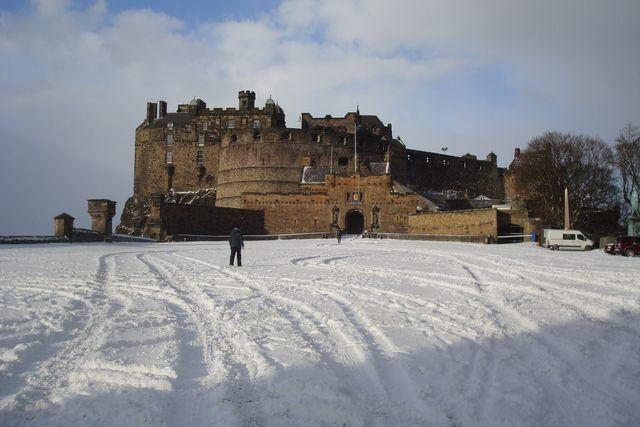 edimbourg neige 12