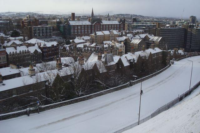 edimbourg neige 13