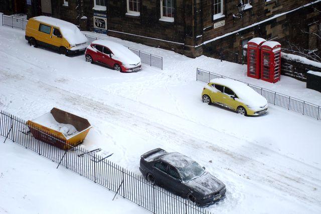 edimbourg neige 14