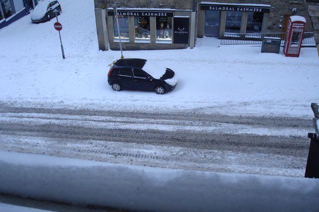 edimbourg neige 5