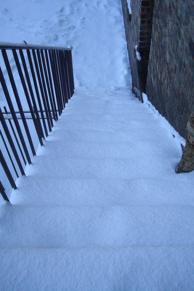 edimbourg neige 6