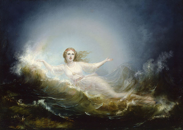 "R.W. Ekman, ""Ilmatar"", 1860, huile sur toile, 79 x 111,5 cm"