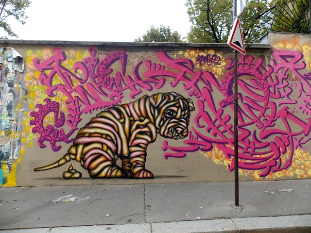 street art paris 13e 2