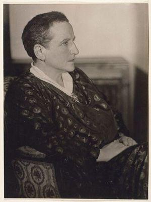 Gertrude Stein par Man Ray, en 1926