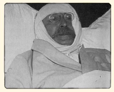 14 février 1936, Léon Blum sur son lit d'hôpital après son agression par les camelots du roi