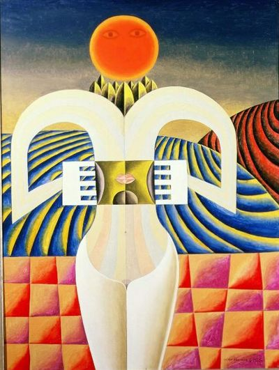 """Victor Brauner, """"À la découverte de la conscience"""", 1956"""
