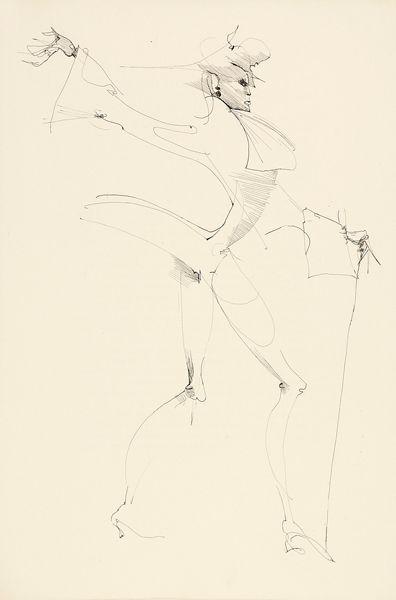 """eau-forte de Leonor Fini pour l'édition très incomplète du """"Manuscrit trouvé à Saragosse"""" par Roger Caillois"""