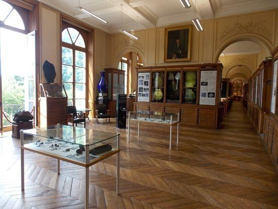 La salle d'entrée du musée
