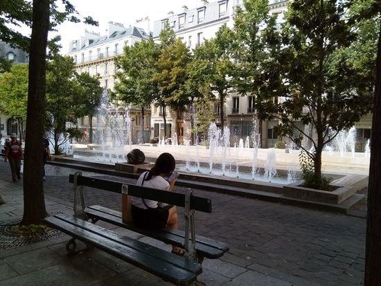 Hier auFrigidarium du musée de Cluny et place de la Sorbonne, photos Alina Reyes