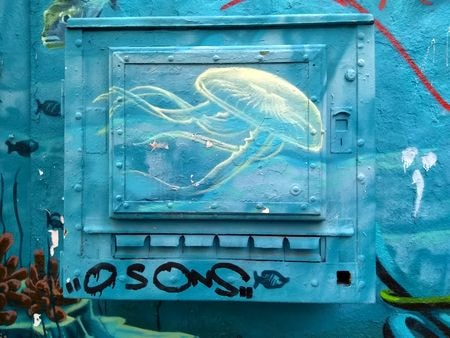 street art butte aux cailles etc. 15-min