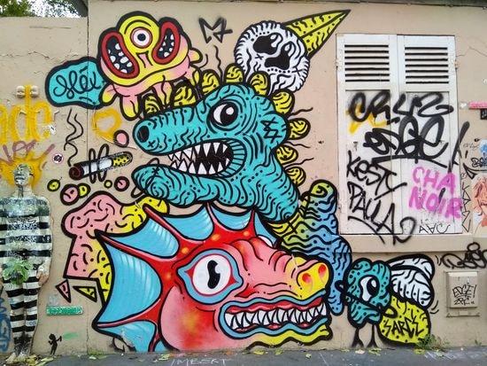 street art butte aux cailles etc. 20-min