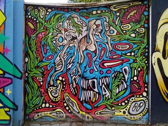 street art butte aux cailles etc. 25-min