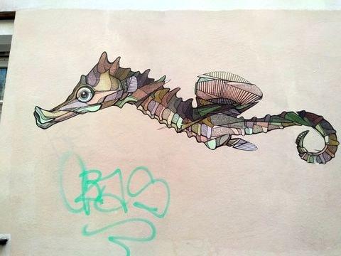 street art butte aux cailles etc. 30-min