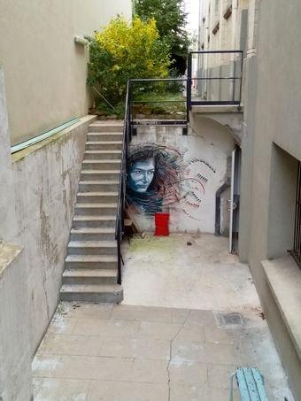 street art butte aux cailles etc. 45-min