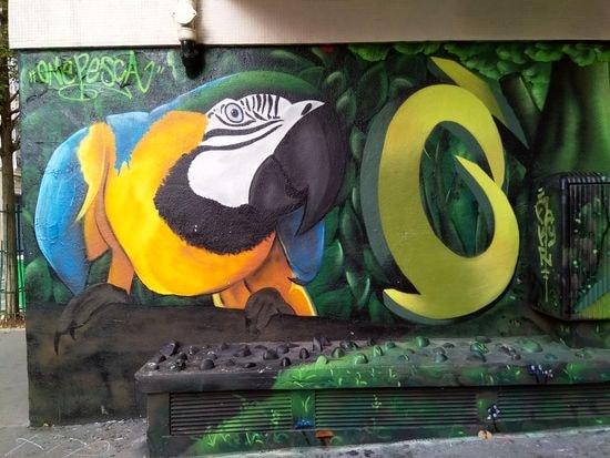 street art butte aux cailles etc. 5-min
