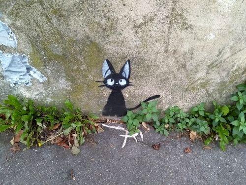 street art butte aux cailles etc. 50-min