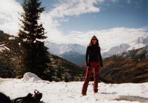 il y a quelques années, à la montagne