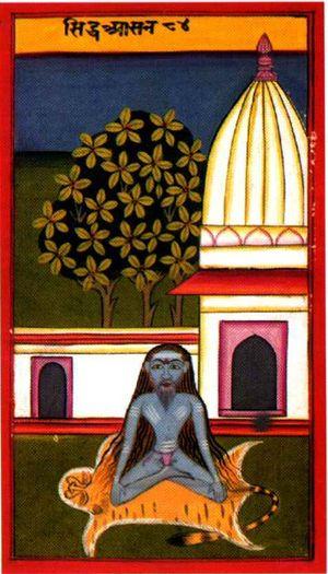 Siddhasana,