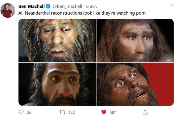 On a beau savoir aujourd'hui que Neandertal avait des capacités cognitives comparables aux nôtres, les fantasmes s'y accrochent toujours...