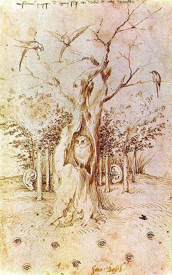 """Jérôme Bosch, """"La forêt qui entend et le champ qui voit"""""""