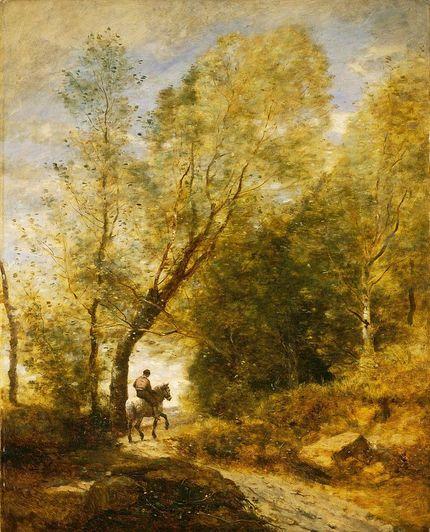 Jean-Baptiste-Camille Corot, « La forêt de Coubron » (1872)