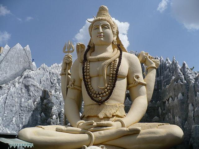 Statue de Shiva à Bangalore
