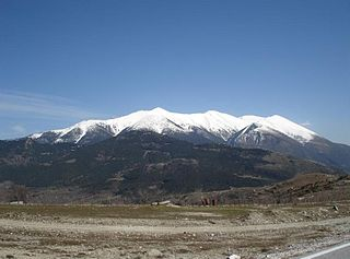 le mont Olympe, photo Giorgos Kollias pour wikimedia