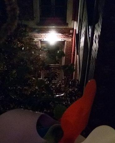 La nuit dernière à ma fenêtre, photo Alina Reyes