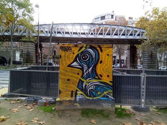 Cet après-midi boulevard Blanqui à Paris, photo Alina Reyes