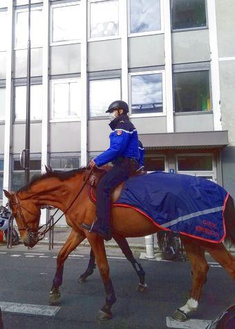 Ce matin devant la Sorbonne Nouvelle, photo Alina Reyes